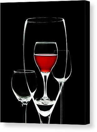 Wineglass Canvas Prints