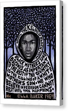 Racism Mixed Media Canvas Prints