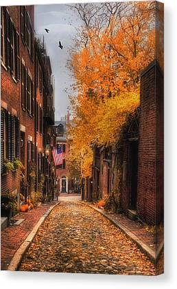 Fall In New England Canvas Prints