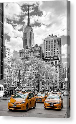 5th Ave Canvas Prints