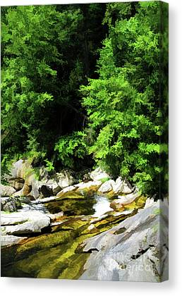 Kent Connecticut Digital Art Canvas Prints
