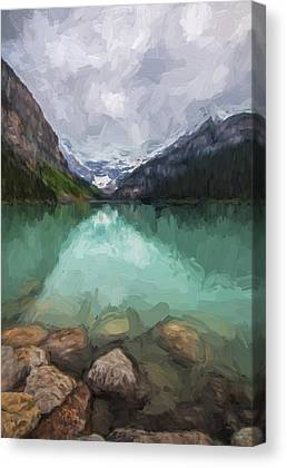 Art In Canada Digital Art Canvas Prints