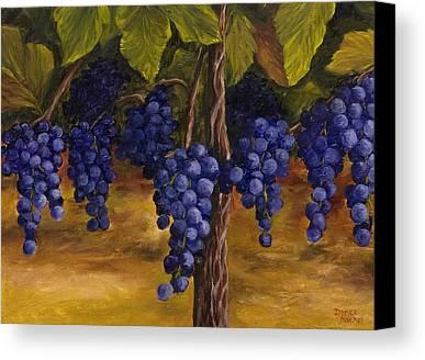 Grape Canvas Prints
