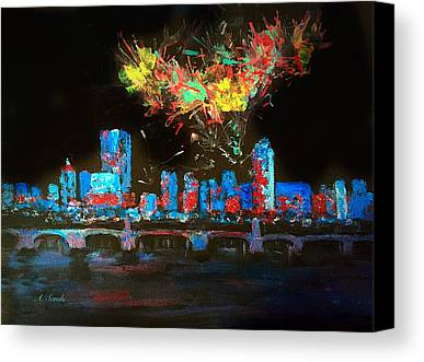 Fireworks Paintings Limited Time Promotions
