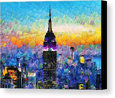 New York Skyline Paintings Limited Time Promotions