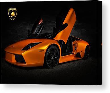 Lamborghini Murcielago Art Pixels