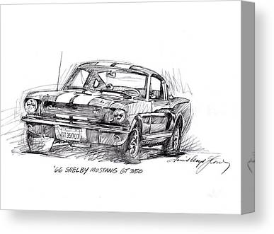 Shelby 350 Canvas Prints