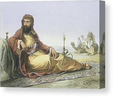 Orientalists Drawings Canvas Prints