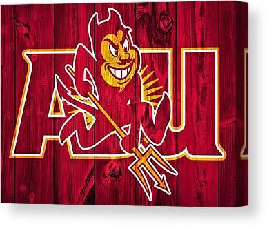 Arizona State University Asu Tempe Canvas Prints