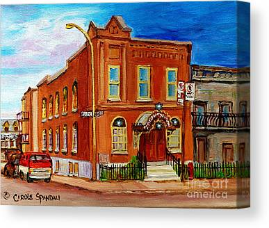 Montreal Synagogues Canvas Prints