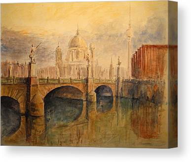 Berlin Germany Paintings Canvas Prints