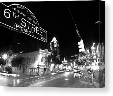 Austin Texas Photographs Canvas Prints