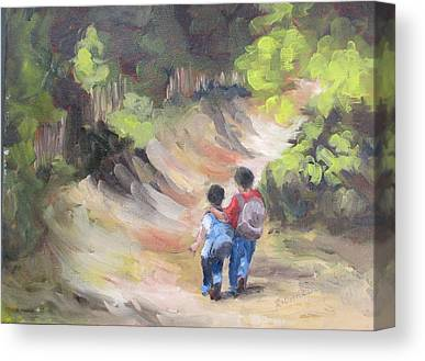 My Brothers Keeper Paintings Canvas Prints