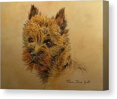 Cairn Terrier Canvas Prints