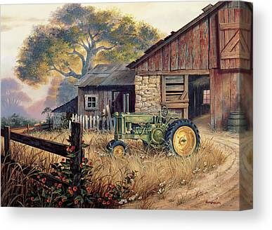 John Deere Canvas Prints