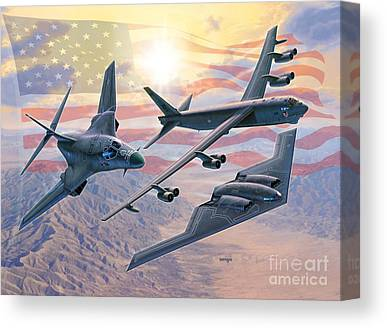 B-52 Canvas Prints