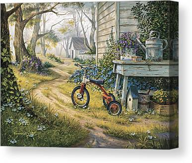 Watering Can Canvas Prints