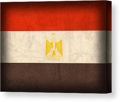 Middle East Mixed Media Canvas Prints