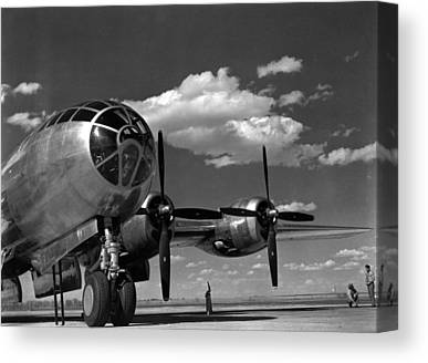 On The Runway Canvas Prints