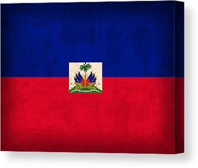 Haiti Mixed Media Canvas Prints