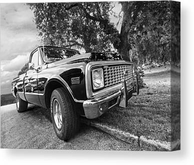 Chevy C10 Canvas Prints