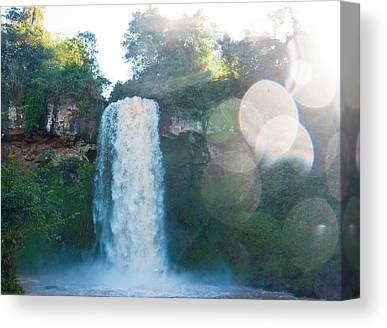 Iguazu Falls Canvas Prints