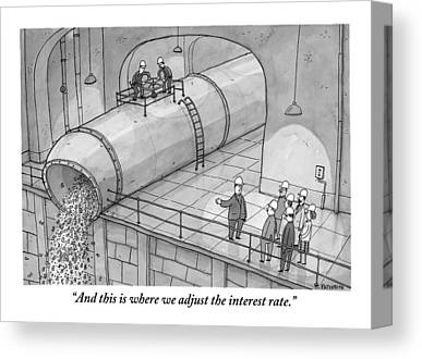Factory Drawings Canvas Prints