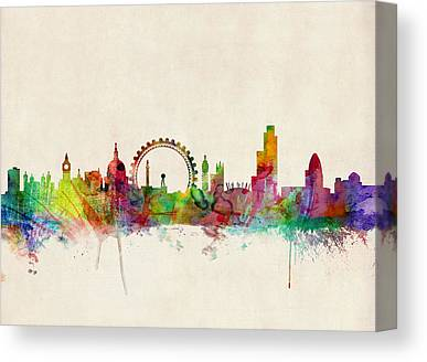 England Canvas Prints