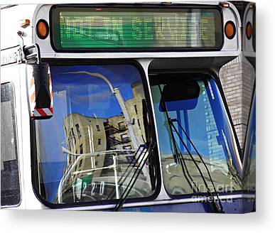 Not In Service Canvas Prints