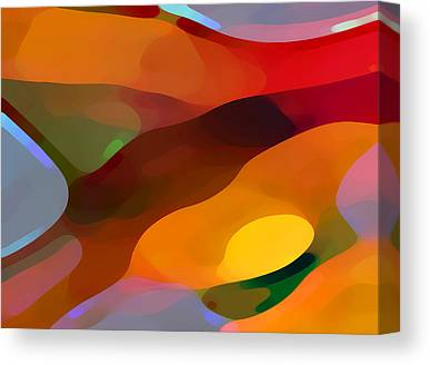 Abstractions Canvas Prints