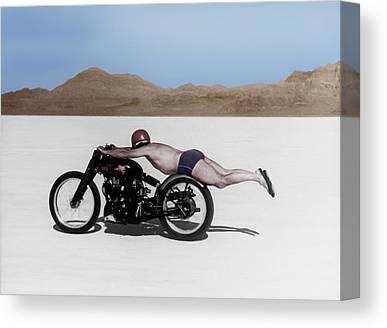 Salt Flats Canvas Prints