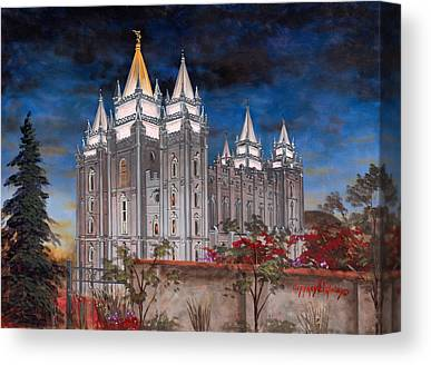 Church Of Jesus Christ Of Latter-day Saints Canvas Prints