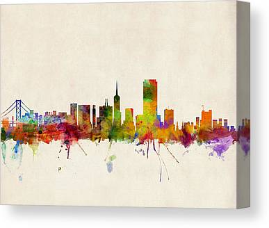 California Travel Canvas Prints