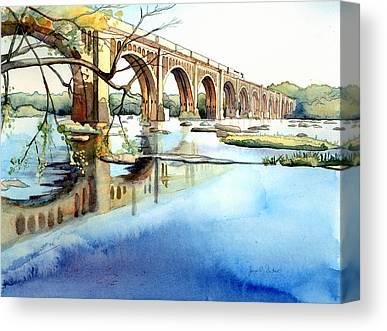 Csx Train Canvas Prints