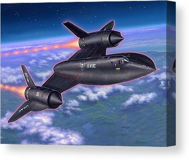 Spy Plane Canvas Prints