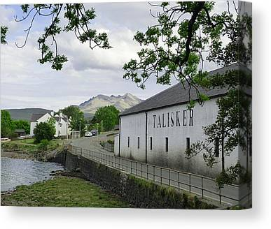 Distillery Canvas Prints