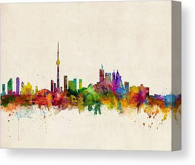 Toronto Skyline Canvas Prints