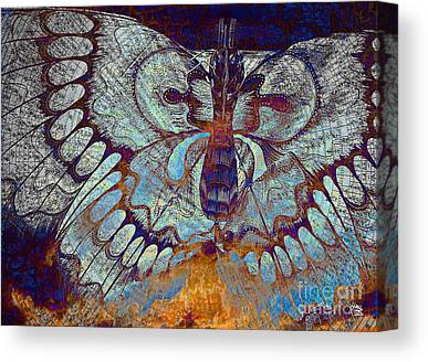 Artwork Of Butterfly Canvas Prints