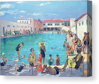 Summer Holiday Canvas Prints