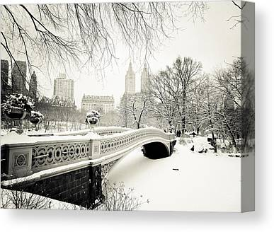 Winter Landscapes Canvas Prints