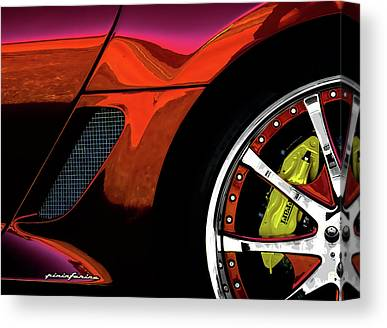 Mag Wheels Canvas Prints