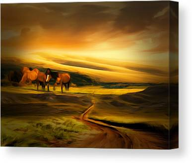 Newengland Canvas Prints