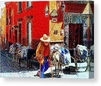 Umaran Street Canvas Prints