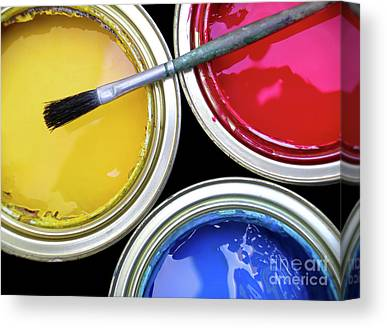 Primary Colors Canvas Prints