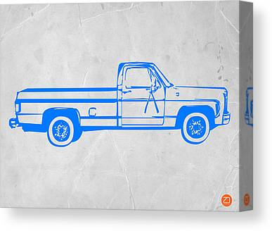 Old American Truck Canvas Prints