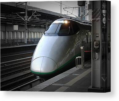 Bullet Trains Canvas Prints