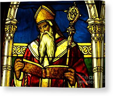Saint Agustine Canvas Prints