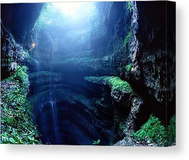 Fantasy Cave Canvas Prints