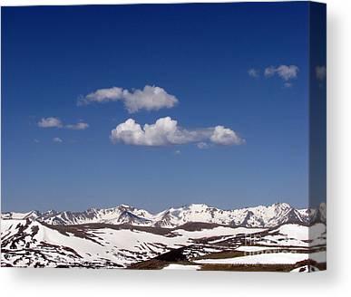 Rocky Mountain Digital Art Canvas Prints