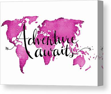 World Traveler Canvas Prints